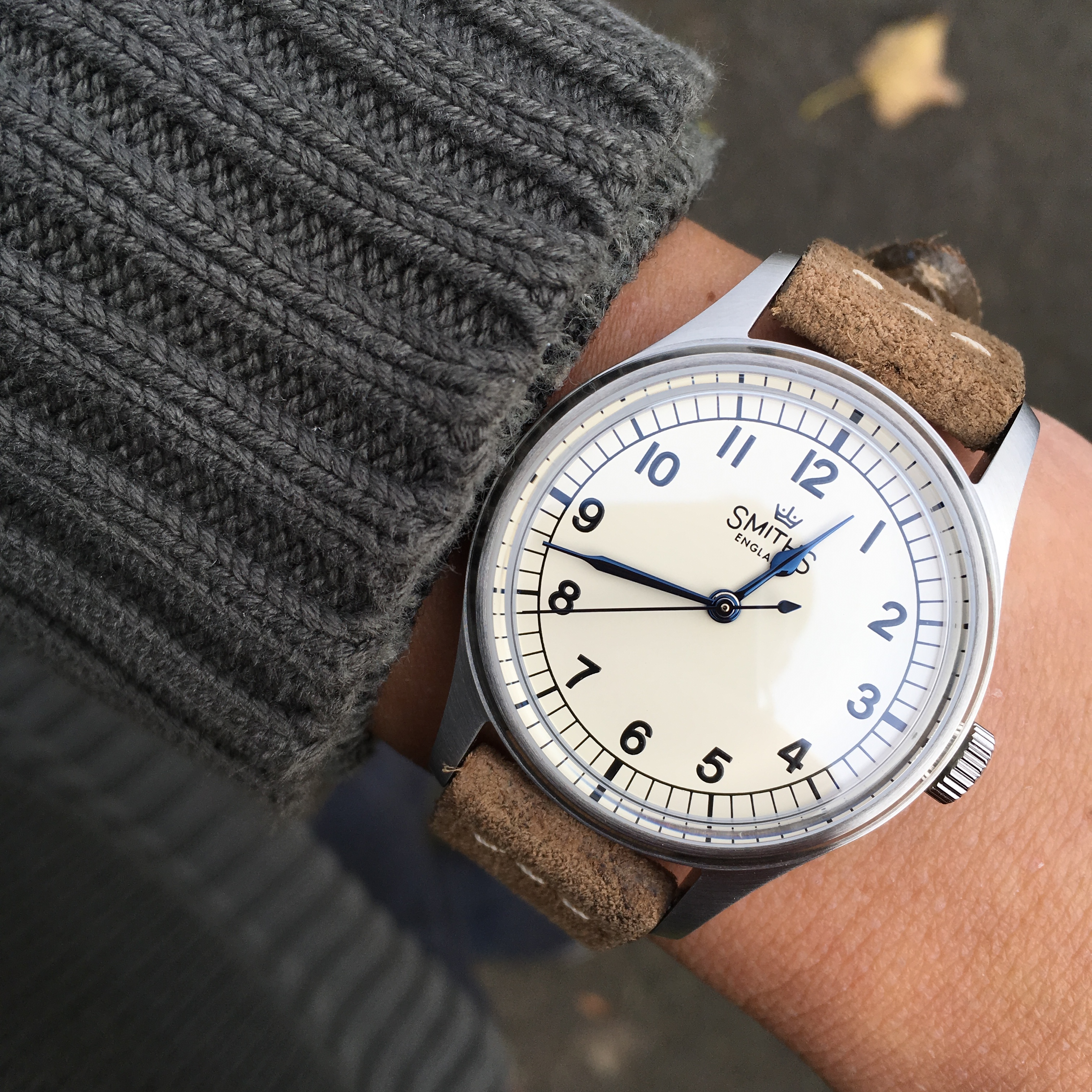 Review : Military and Aviation Themed Smiths Watches - Scottish Watches