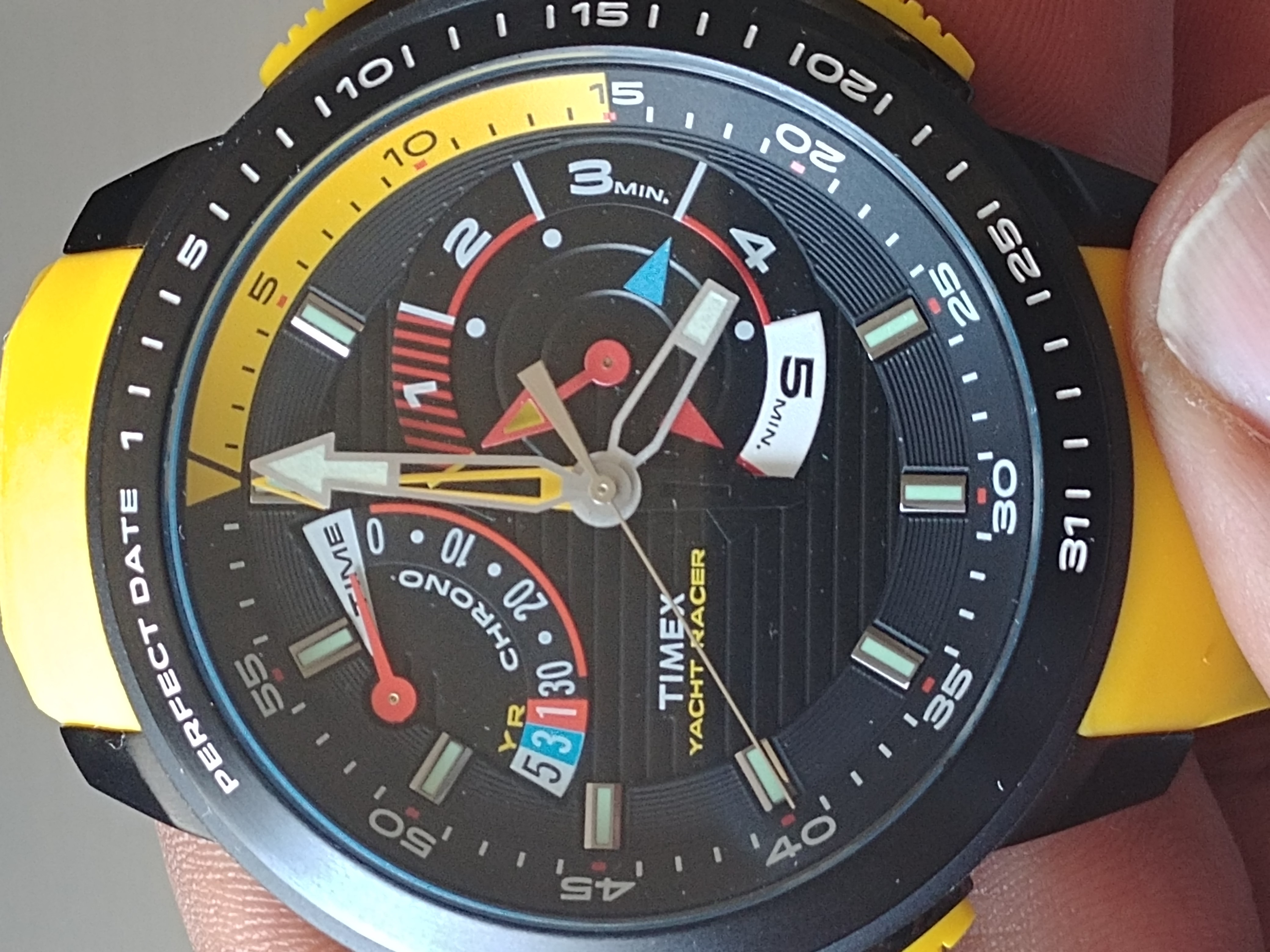 586d181a443c Review   Timex Yacht Racer