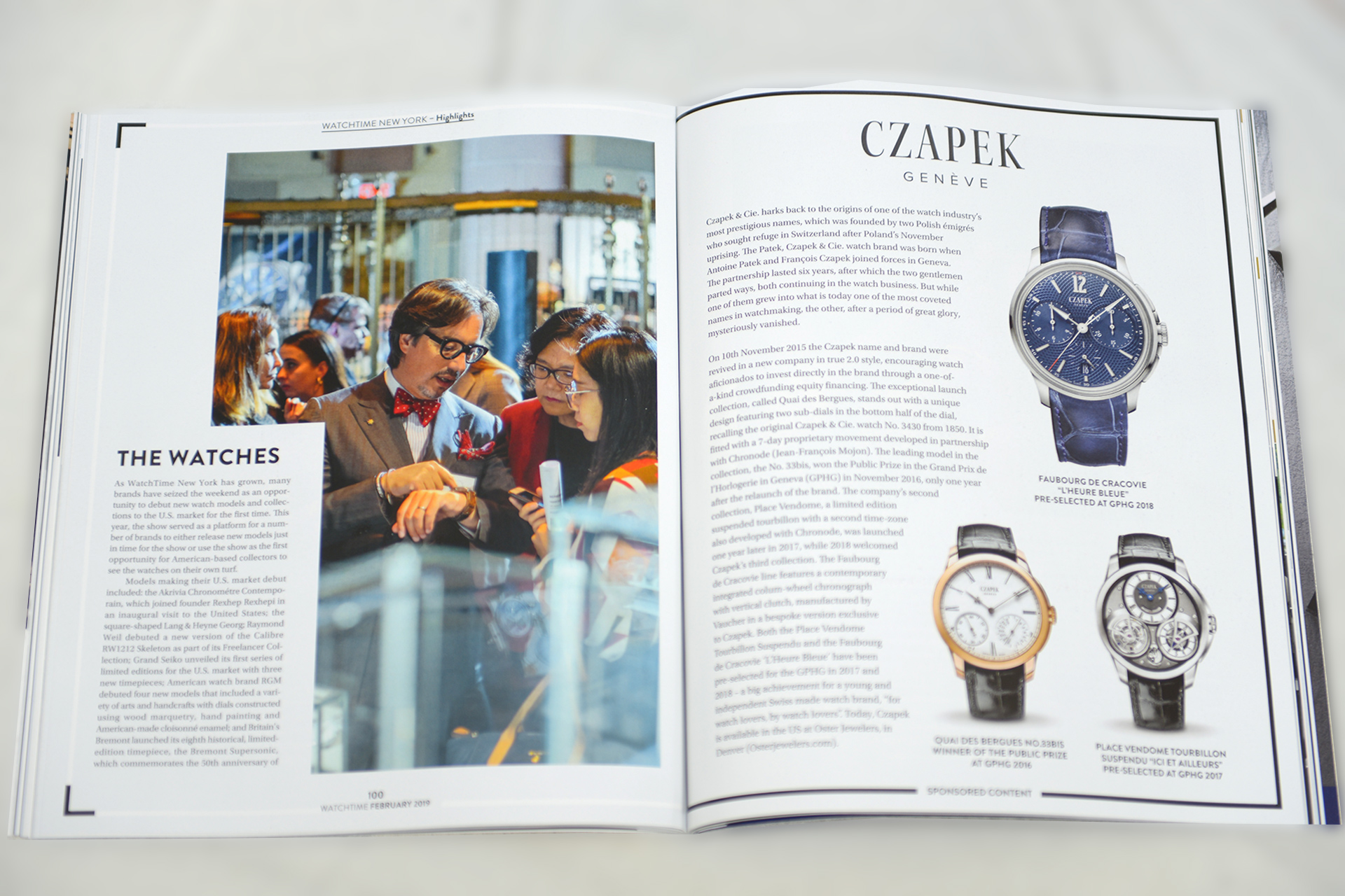 Review : WatchTime Magazine - Scottish Watches