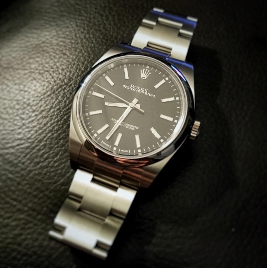 Review  Rolex Oyster Perpetual 39 (black dial) , Is this