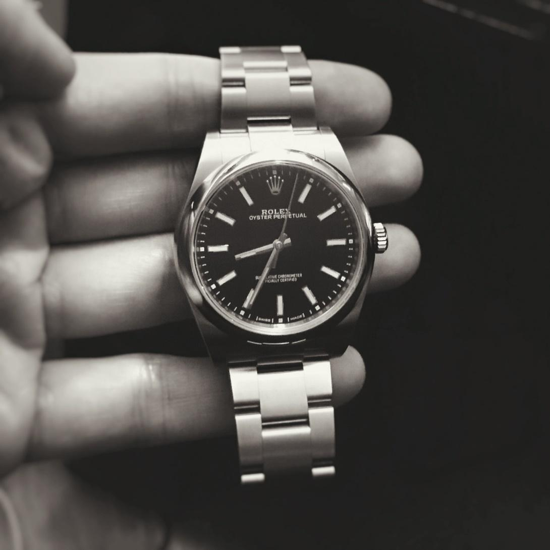 Review Rolex Oyster Perpetual 39 Black Dial Is This The