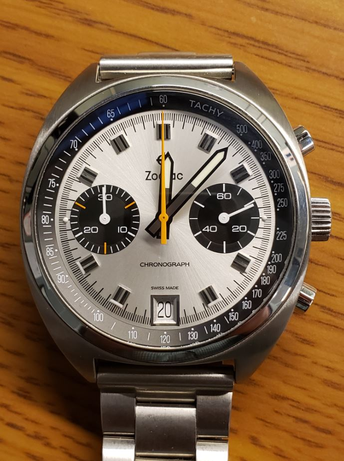 c54ce7dcf But in the great balancing act between engineering, design, pedigree and  cost, the Zodiac Grandrally chronograph might be enough watch to tip the  scales, ...