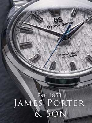 Seiko and Grand Seiko Watches at James Porter and Son