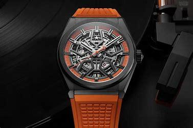 Image result for zenith swiss beats defy skeleton