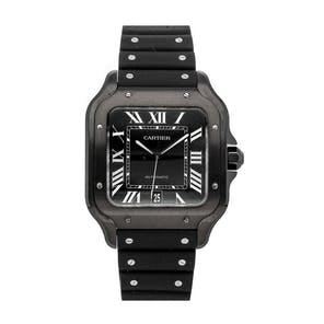 Pre-Owned Cartier Santos de Cartier Large Model WSSA0039