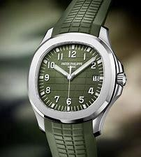 Image result for patek philippe aquanaut olive green