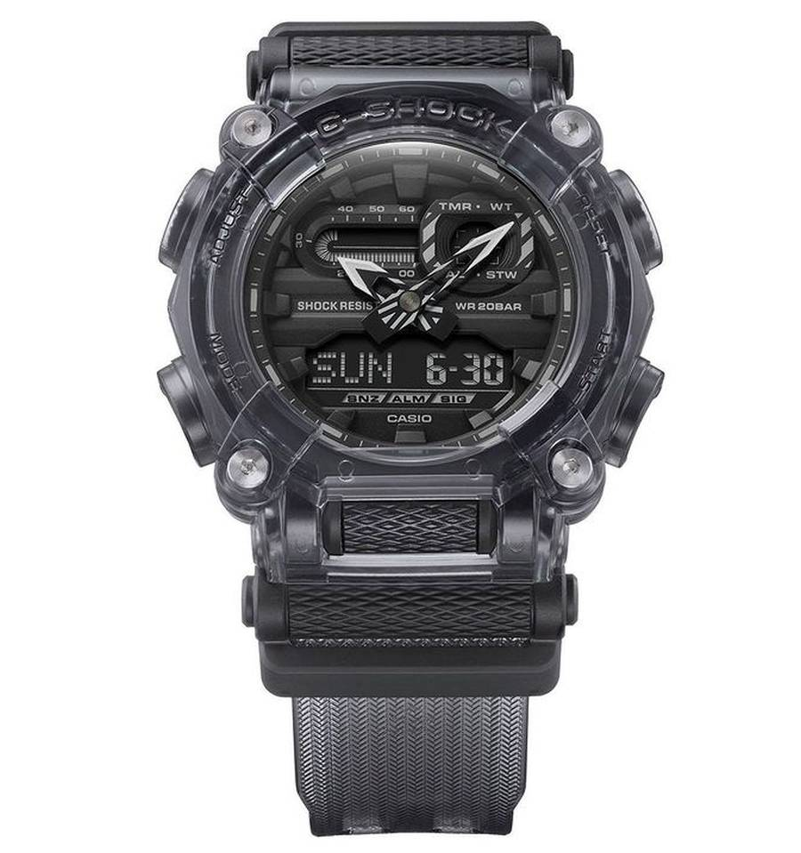 A picture containing watch, outdoor, black  Description automatically generated