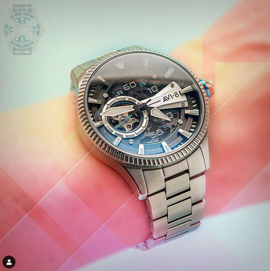 A picture containing watch, indoor  Description automatically generated