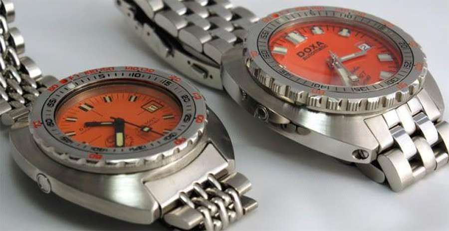 Doxa Sub 300T and 5000T - photo by Peter McClean Millar