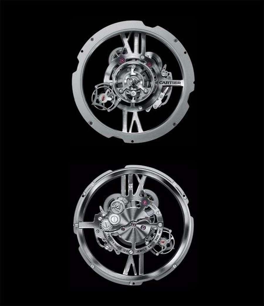 Rotonde de Cartier Mysterious Astrotourbillon
