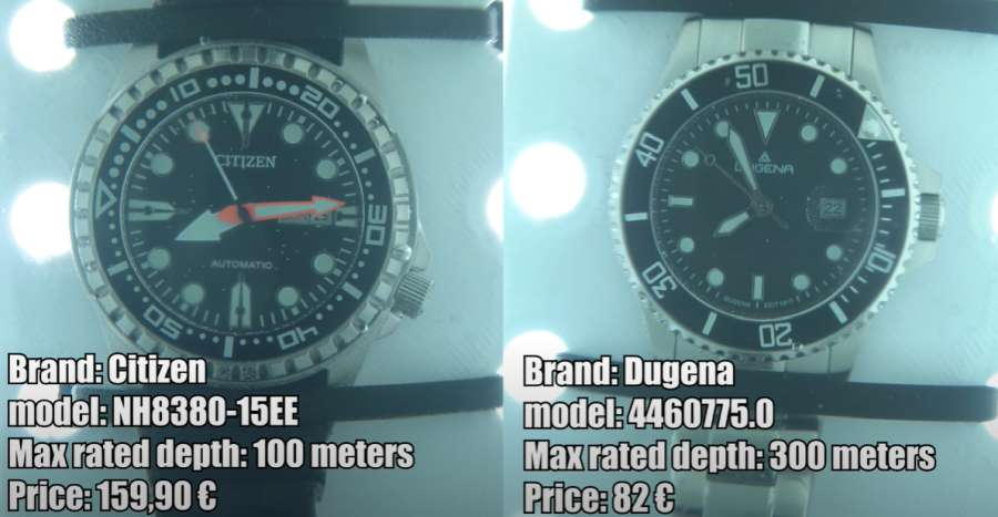 A picture containing text, watch, different, gauge  Description automatically generated