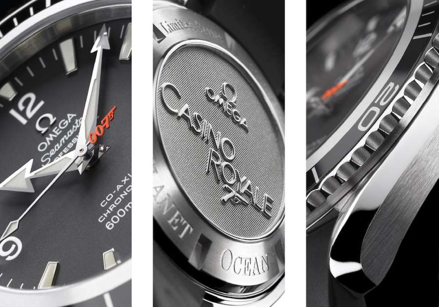 omega seamaster planet ocean james bond 007 casino royale