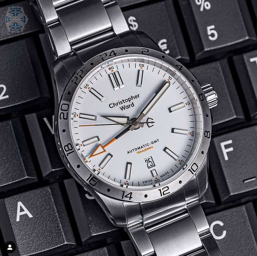 A picture containing watch, hand, different Description automatically generated