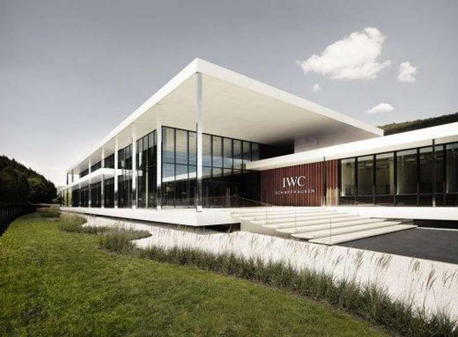 IWC Manufacturing Center Schaffhausen Switzerland