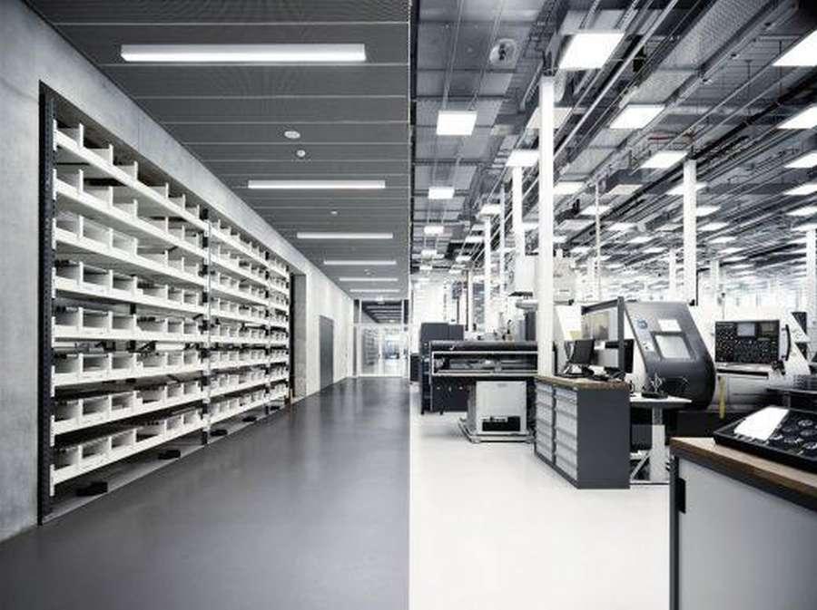 IWC Manufacturing Center Schaffhausen design by ATP architects engineers