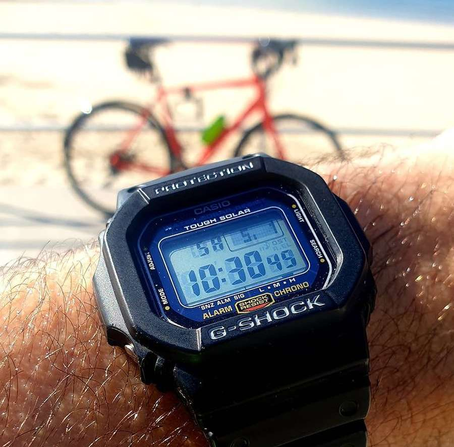A picture containing watch, outdoor Description automatically generated