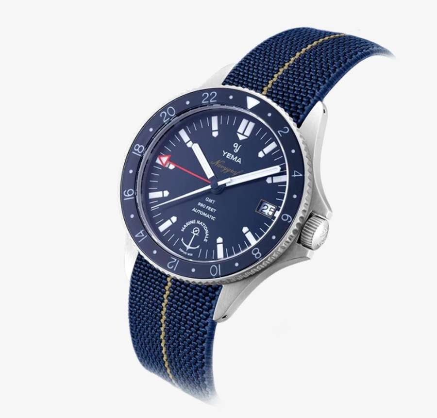 A picture containing watch, black  Description automatically generated
