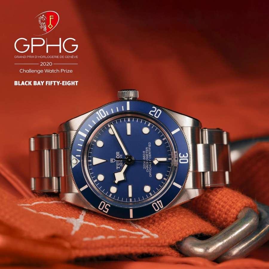 TUDOR BLACK BAY FIFTY EIGHT NAVY BLUE 39 MM - M79030B-0001