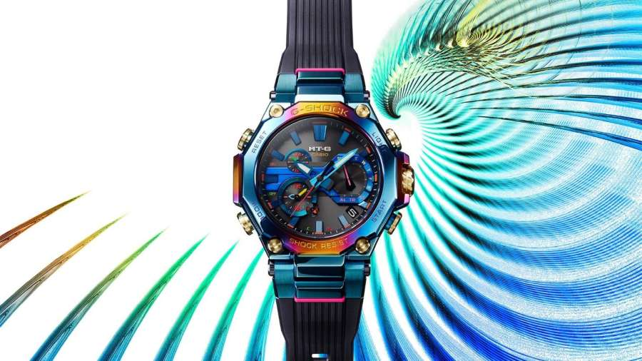 The GShock 'Blue Phoenix' is a lot of watch for the money quite literally