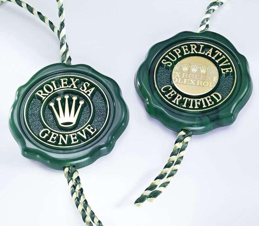 rolex superlative chronometer certification