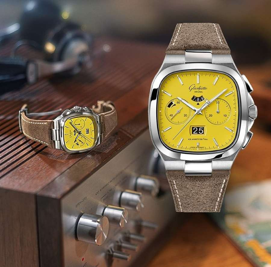 A picture containing indoor, watch, wooden  Description automatically generated