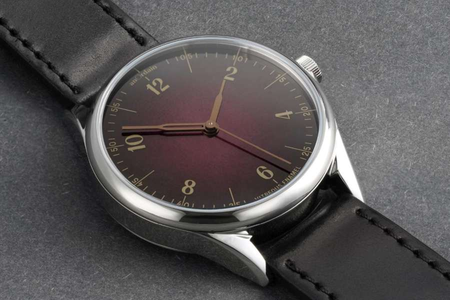 A picture containing watch, indoor, close Description automatically generated