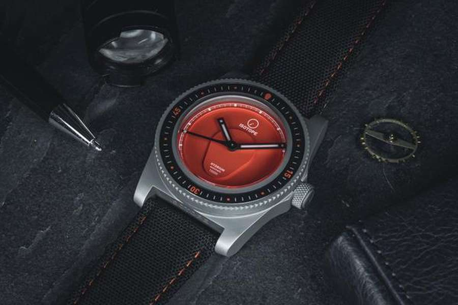 A picture containing indoor, watch, leather, control panel Description automatically generated